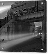 The Overpass Acrylic Print by Mike McGlothlen