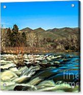 The Payette River Acrylic Print by Robert Bales