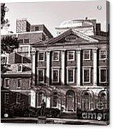 The Pennsylvania Hospital Acrylic Print by Olivier Le Queinec