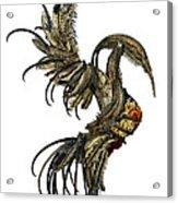 The Phoenix Acrylic Print by Cara Bevan