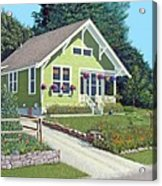 The Pickles House Acrylic Print by Gary Giacomelli