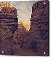 The Pyramid Acrylic Print by Laurie Search