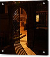 The Quire Lies Beyond Acrylic Print by Lisa Knechtel
