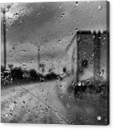 The Rain Makes Mysteries Acrylic Print by Wendy J St Christopher