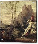The Rape Of Europa Acrylic Print by Gustave Moreau