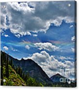 The Rare Phenomena Rainbows Acrylic Print by Janice Rae Pariza