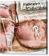 The Reading Phillies Acrylic Print by Trish Tritz