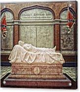 The Recumbent Robert E. Lee Acrylic Print by Mountain Dreams