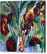 The Righteous Will Flourish Like The Date Palm Tree Acrylic Print by David Baruch Wolk