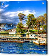 The Sagamore Hotel On Lake George Acrylic Print by David Patterson