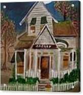 The Scary Neighbor Acrylic Print by Ann Whitfield