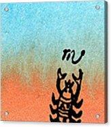 The Scorpion Acrylic Print by R Kyllo