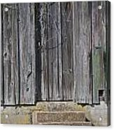 The Side Door Acrylic Print by Skip Willits