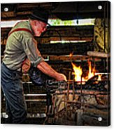 The Smith Acrylic Print by Kenny Francis