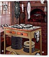 The Soft Clock Shop Acrylic Print by Mike McGlothlen