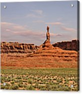 The Spindle - Valley Of The Gods Acrylic Print by Christine Till