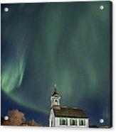 The Spirit Of Iceland Acrylic Print by Evelina Kremsdorf