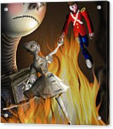 The Steadfast Tin Soldier ...the Envy... Acrylic Print by Alessandro Della Pietra