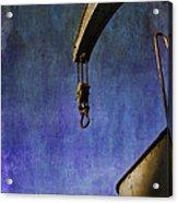 The Steam Crane Acrylic Print by Brian Roscorla