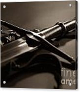 The Sword Of Aragorn 2 Acrylic Print by Micah May