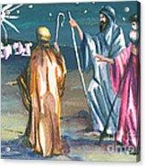 The Three Kings Acrylic Print by Elisabeta Hermann