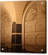The Tombs At Les Invalides - Paris France - 011335 Acrylic Print by DC Photographer
