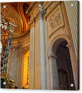 The Tombs At Les Invalides - Paris France - 01138 Acrylic Print by DC Photographer
