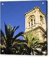 The Tower Of The Cathedral Of The Incarnation Acrylic Print by John Rocha