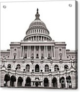 The United States Capitol  Acrylic Print by Olivier Le Queinec