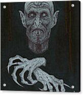 The Vampire Acrylic Print by Wave
