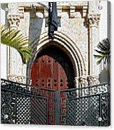 The Villa. Miami. Fl. Acrylic Print by Juan Carlos Ferro Duque