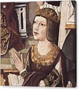 The Virgin Of The Catholic Monarchs Acrylic Print by Everett