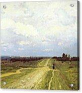 The Vladimirka Road Acrylic Print by Isaak Ilyich Levitan