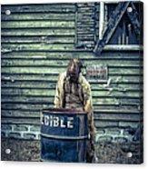 The Walking Dead Acrylic Print by Edward Fielding