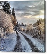 The Way Home Acrylic Print by Rory Sagner