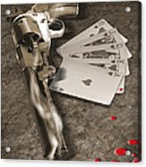 The Way Of The Gun 2 Acrylic Print by Mike McGlothlen