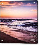 The Wedge Newport Beach California Picture Acrylic Print by Paul Velgos
