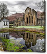 The Welsh Abbey Acrylic Print by Adrian Evans