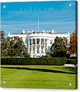 The White House Acrylic Print by Greg Fortier