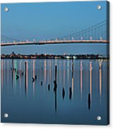The Whitestone Acrylic Print by JC Findley