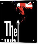 The Who No.01 Acrylic Print by Unknow