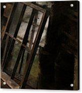 The Window Shop Acrylic Print by Ron Jones