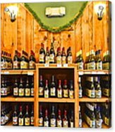 The Wine Cellar Acrylic Print by Frozen in Time Fine Art Photography