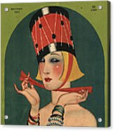 Theatre 1923 1920s Usa Magazines Art Acrylic Print by The Advertising Archives