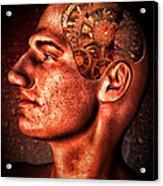 Thinking Man Acrylic Print by Bob Orsillo