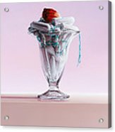 This Illusion Acrylic Print by Mark Van crombrugge