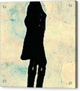 Thomas Jefferson Silhouette 1800 Acrylic Print by Padre Art