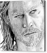 Thor Odinson Acrylic Print by Kayleigh Semeniuk