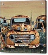 Three Amigos Acrylic Print by John Wyckoff