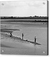 The Banks Of The Somme Acrylic Print by Aidan Moran